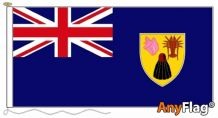 TURKS AND CAICOS ANYFLAG RANGE - VARIOUS SIZES